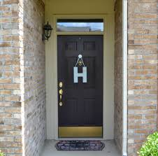 How To Paint An Exterior Door Painted Front Door Inspiration