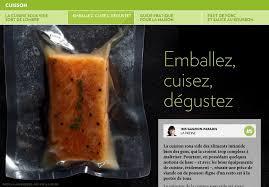 la cuisine sous vide cuisson emballez cuisez dégustez la cuisson sous vide des