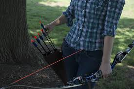 six quivers for archers on the go