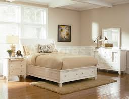 Cozy White Bedroom White Wood Bedroom Furniture Set