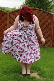 giveaway bbw couture u0027s floral 1950s vintage party dresses big
