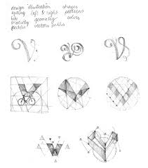 geometrical drop cap v veerle u0027s blog 3 0