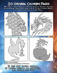 dragon coloring book u2013 bruce herwig u2013 color me redlands