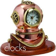 themed clocks seaside gifts maritime and nautical gifts and decorations