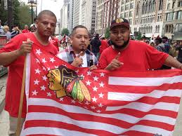 Guadalupe Flag Blackhawks Parade Rally Crowd Estimated At 2 Million Chicago