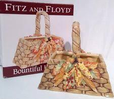 fitz and floyd harvest ebay