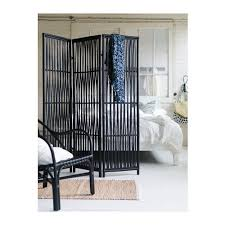 Bamboo Room Divider Ikea Line With This Wood Or Stetched Fabric Instead Of Soji Screen