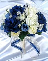 Royal Blue And Silver Wedding Blue White And Silver Wedding Bouquets Grey And Silver Wonderland