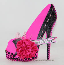 birthday cards with shoes high heel shoe 3d cards may arts wholesale ribbon company