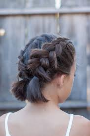 plaited hairstyles for short hair 16 easy and cute braided hairstyles for short hair gurl com