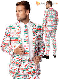 christmas suit mens christmas opposuit party festive oppo suit fancy