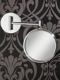 hib rico circular magnifying bathroom mirror 24300