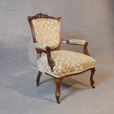 Victorian Armchair Walnut Victorian Arm Chairs Foter