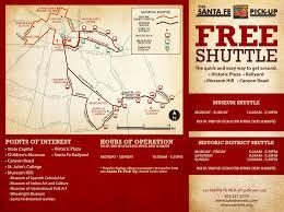 New Mexico Cities Map Santa Fe Pickup Shuttle City Of Santa Fe New Mexico