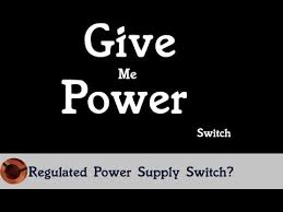 how to add a switch regulated power supply or car stereo in home