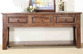 Rustic Long Console Table Thedigitalhandshake Furniture How To