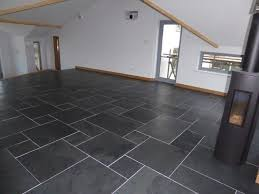 brushed black slate flooring modern other by mrs store