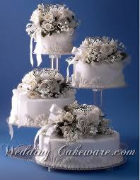 4 tier cascading wedding cake stand stands set wedding cake