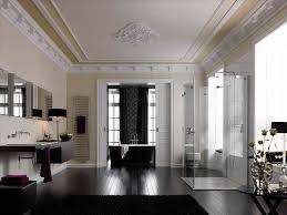 große badezimmer badezimmer schwarz wei dekoration bodenfliesen und badfliesen
