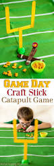 craft stick catapult game for fun game day party game for kids