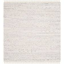 Rag Area Rug Safavieh Rag Rug Ivory Multi 8 Ft X 8 Ft Square Area Rug Rar121g