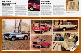 Vintage Ford Truck Advertisements - 1981 ford pickup 06 ford truck ads pinterest ford ford