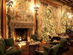 Christmas Decorated Home by Interior Design For Christmas Decorating