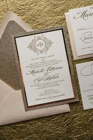 wedding invitation packages glitter wedding invitations affordable letterpress