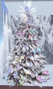 second marketplace snow tree top shine