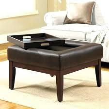 Using An Ottoman As A Coffee Table Ottoman Flip Top Table Leather Flip Top Storage Bench Ottoman