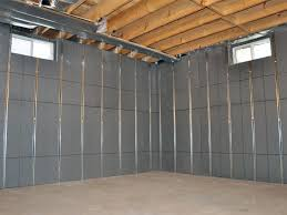 Basement Wall Insulation Options by Basement To Beautiful Insulated Wall Panels In Greater Cleveland