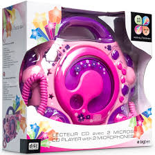 cd player für kinderzimmer bigben tragbarer cd player cd47 pink für kinder 2 mikrofone