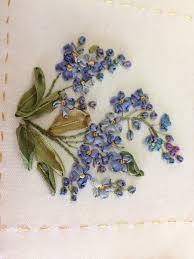 ribbon embroidery flower garden kit garden party helen eriksson