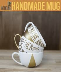 wedding gift gold painted gold mugs diy projects craft ideas how to s for