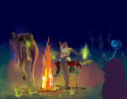 shaman lady u0027s lair wip by lucynickbakura on deviantart