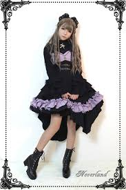 Night Of The Blazing Angels Gothic Corset Jsk Dress