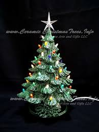 ceramic christmas tree collection 7 inches ceramic christmas trees