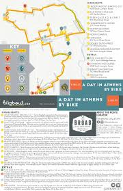 Map A Bike Route by A Day In Athens By Bike U2014 Bikabout