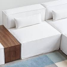 Sofa Slip Covers by Gus Modern Mix Modular Box Cushion Sofa Slipcovers Wayfair