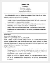 Example Customer Service Resume by Resume Template U2013 781 Free Samples Examples U0026 Format Download