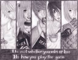 drawing of death note by kyaaa l on deviantart