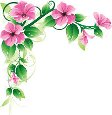 flower clip grab this free clipart to celebrate the summer floral border