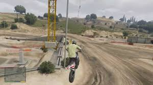 motocross biking gta 5 amazing dirt bike racetrack location u0026 gameplay youtube