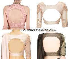 100 blouse designs best stunning saree blouse neck designs