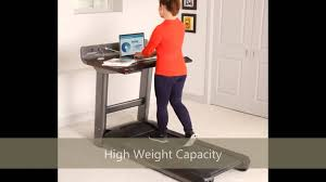 Diy Treadmill Desk by Life Fitness Treadmill Desk Review Youtube