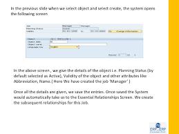 organizational management sap hr