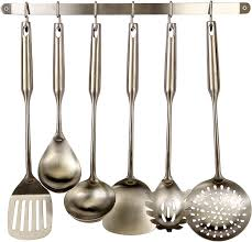 amazon com pro chef kitchen tools stainless steel utensil hanging