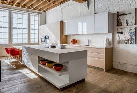Natural Wood Kitchen Island Kitchen Natural Wood Flooring With Island Also Counter And Bar