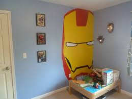 finished my son u0027s avengers bedroom marvel