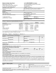activated carbon msds air cycle corporation